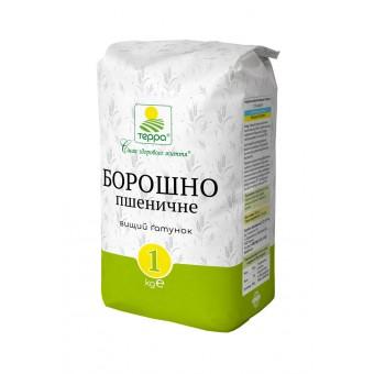 Борошно пшеничне вищого ґатунку, 1000 г