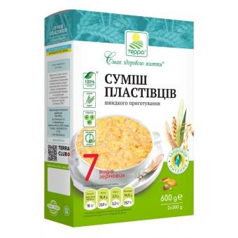 Суміш пластівців 7 видів зернових швидкого приготування